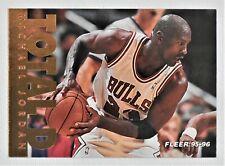 1995-96 Fleer  Total D  MICHAEL JORDAN # 200