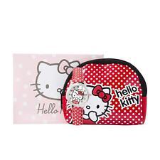 Hello Kitty Watch Pink Polka Dot Strap & Coin Purse Gift Set Age 6+