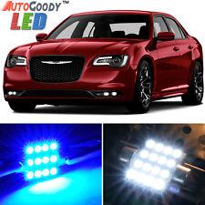 11 x Premium Blue LED Lights Interior Package for 2011-2017 Chrysler 300 + Tool