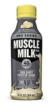 NEW Cytosport Muscle Milk Pro 40 Series Go Bananas 14 oz. Bottles 12 Count