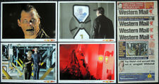 WALES WESTERN MAIL 16 17 18 19 NOVEMBER 2009 NEWSPAPERS . DOCTOR WHO POSTERS X4