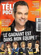 "Mag 2014: GAROU ""The Voice""_ANTOINE DULERY_ERIC McCORMACK_CHARLOTTE DE TURCKHEIM"