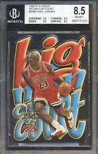Michael Jordan 1996-97 Skybox Z-Force Big Men On Court Die Cut ICONIC BGS 8.5