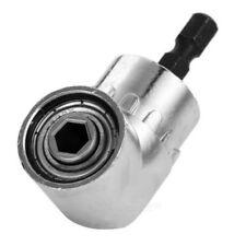 "105° Angle 1/4"" 6mm Extension Hex bit Drilling Screwdriver Socket Holder Adaptor"
