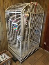 Large Parrot/Bird Cage - California Cages, Quality Heavy Steel - Worth the Trip!