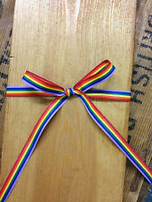 Rainbow Ribbon, Gay Pride - 10mm x 50m