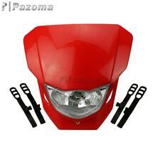 MX Motocross Enduro Headlight Head Lamp Fairing For Honda CRF50F CRF70F CRF80F