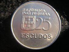 1981 25 escudos portugueses Liberty moneda en muy buen grado
