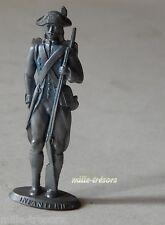 Figurine MOKAREX 1953 INFANTERIE LOUIS XV 1745 -  Personnage HISTOIRE de FRANCE