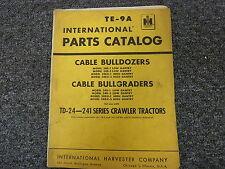 International IH 24D1 24D3 24DX1 24DX3 Cable Bulldozer Dozer Part Catalog Manual