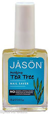 Jason Purifying Tea Tree Oil Cuticle & NAIL SAVER 15ml Rehydrates Nails/Cuticles
