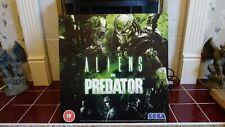 Aliens vs Predator Shop display Gaming board poster -  rare 50 x 50  cms