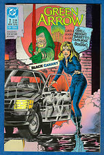 GREEN ARROW # 7  - DC 1988  (vf)  Black Canary