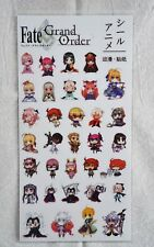 Fate Grand Order Transparent Stickers Anime Manga Diary Japanese Stationery Cute