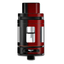 Skins Decals for Smok Mini TFV8 Big Baby Beast Tank Vape Mod / Black and Red Le