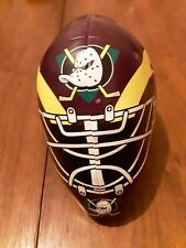 GOOD STUFF Soft Plush Vinyl Helmet - Anaheim Mighty Ducks CA Hockey Team, NHL