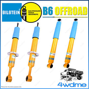 Holden Colorado RG Bilstein B6 Offroad Monotube Front and Rear Shock Absorbers
