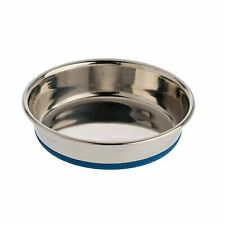 OURPETS ROUND CAT DISH STAINLESS STEEL XS RUBBER BOTTOM. FREE SHIPPING TO USA