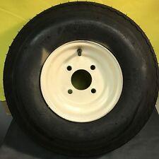 570x8, 4 lug Tire and Wheel Combo, Load Range B 50psi