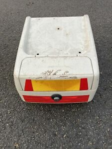 Genuine BMW Touring motorcycle Top Box Back Side Helmet Luggage 0239046 07509701