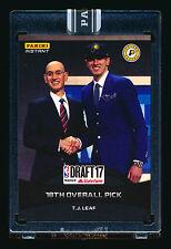 2017 PANINI INSTANT T.J. TJ LEAF RC FIRST NBA ROOKIE CARD BLACK UCLA PACERS #1/1