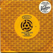 Pearl Jam - Spin The Black Circle Sealed Cardcover CD!