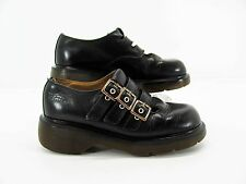 Dr Martens Womens Black 3 Buckle Mary Jane Punk Shoe UK 4 US 6M Pre Owned #Y7