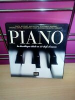 C56  PIANO 5 CD BACH, MOZART, BEETHOVEN, SCHUBERT, BRAMHS ETC ;; TBE