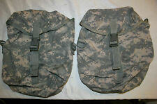 2 Sustainment Pouches Molle Ii Acu Us Army Military Rucksack Back Pack Good