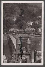 227 P Ansichtskarte  AK  Heidelberg   Alte Neckarbrücke    Baden Württemberg