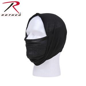Rothco Multi-Use Tactical Wrap Black Head Face Neck #5301