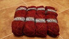 Wendy Metro Wool Yarn 8 skeins England