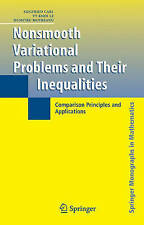 Nonsmooth Variational Problems and Their Inequalities. Comparison Principles and