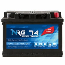 NRG Premium Autobatterie 12V 74Ah WARTUNGSFREI TOP ANGEBOT NEU Batterie