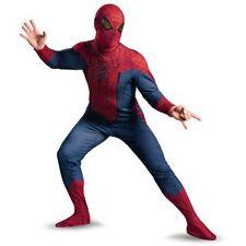 NEW Amazing Spiderman Spider-Man Movie Elite Deluxe Plus Halloween Costume XXL
