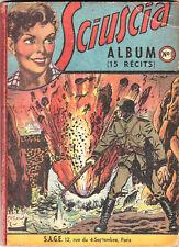 SCIUSCIA album relié n°1 - n°1 à 13 - 1949. Bel état