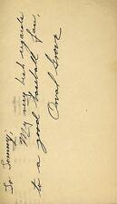 ORVAL GROVE D.92 SIGNED JSA CERT STICKER 1948 FDC AUTHENTIC AUTOGRAPH