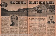 Neal Coldwell, Gallant Texas Ranger+Baylor,Bingham,Carson,Caruthers,Coston,Dolan