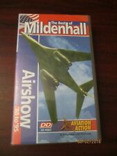 The Best of Mildenhall Airshow 1988 - 1995   VHS Video (NEW)