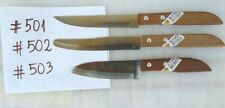 Set of 3 KIWI Stainless Steel Knife - #501, #502, #503 - Thailand - NEW