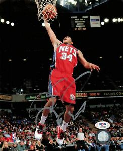DEVIN HARRIS signed 8x10 photo PSA/DNA New Jersey Nets Autographed