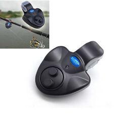 Electronic Fishing Bite Alarm Sound LED Light Alert Bell Clip-On Fishing Rod