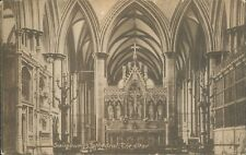 Salisbury Cathedral alter; frith's