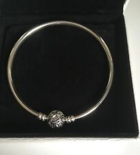 Pandora Limited Edition Silver Celebration Bangle Brand New In Gift Box Size M