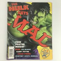 Mad Magazine July 2003 Marvel's Hulk Cover and Conan O'Brien Feature, Newsstand