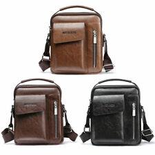 Men's Soft Leather Messenger Satchel Bags Cross Body Tote Handbag Shoulder Bag