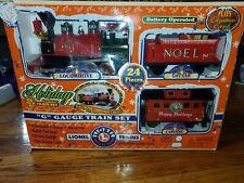 Lionel G Gauge Christmas HOLIDAY TRAIN Set 62134