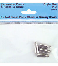 Extender Posts for Post Bound Scrapbook Albums 2 pairs