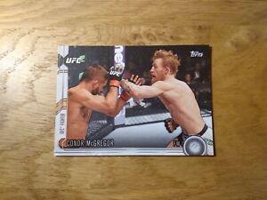 2015 Topps UFC Conor McGregor Knockout UFC Card !