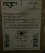 "NEW Waterwand Standard Floor Squeegee, 18"" Wide Blade, Black Rubber"